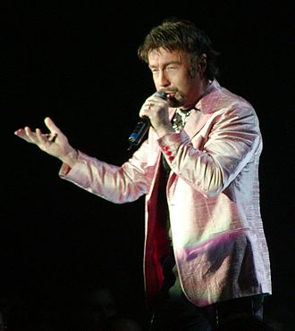 Paul Rodgers - Rodgers performing with Queen, 2005.