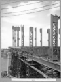 Queensland State Archives 3603 Main bridge erection stage 2 five panels of chords and deck in place Brisbane 22 November 1937.png