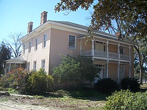 National Register of Historic Places listings in Gadsden County, Florida - Image: Quincy FL Willoughby Gregory House 01