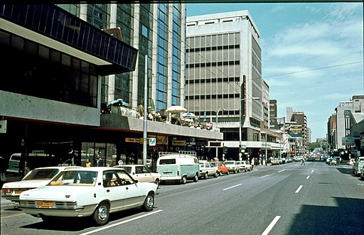 Qwesy - Cafe Wien, Hillbrow, Johannesburg (1980)