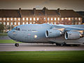 RAF C17 Carrying UK Aid to the Philippines MOD 45156426.jpg