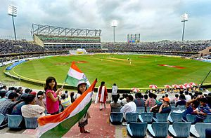 Rajiv Gandhi International Cricket Stadium - View of Rajiv Gandhi Cricket Stadium