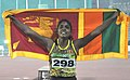 RMRK Rathnayaka (SRI LANKA) won Gold Medal, in the 100 meter run women's, at the 12th South Asian Games-2016, in Guwahati on February 09, 2016.jpg