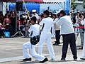 ROCN Photographers and News Reporters Photoing Vice-Admiral Ze-Chun Pu Speech in Opening 20130504.jpg
