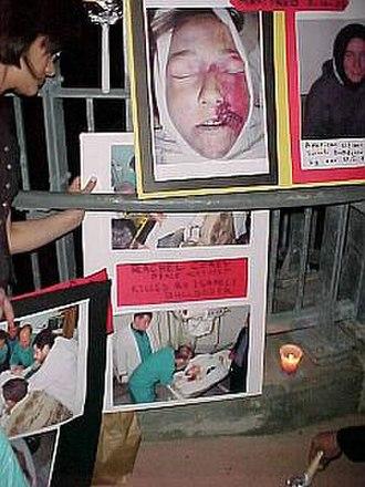 Rachel Corrie - A Palestinian memorial