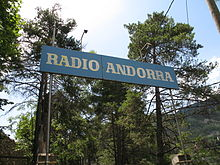 Description de l'image Radio Andorre Encamp (2).JPG.