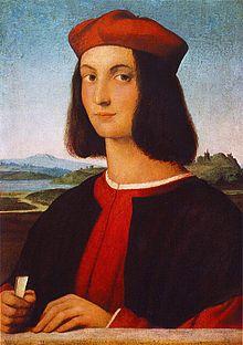 Ritratto di Pietro Bembo. Dipinto da Raffaello Sanzio (1504).