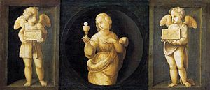 Knight of faith - Theological Virtues by Raphael