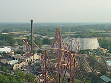 Map Of 6 Flags Great America.Six Flags Great America Wikipedia