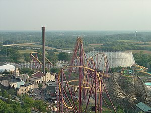 Lake County, Illinois - Six Flags Great America
