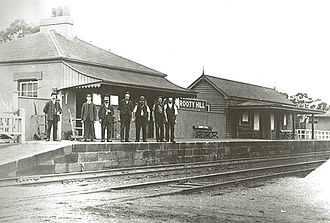 Rooty Hill railway station - The original Rooty Hill station