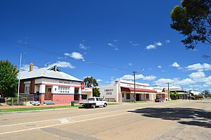 Goomalling, Western Australia - View of Railway Terrace, 2013.