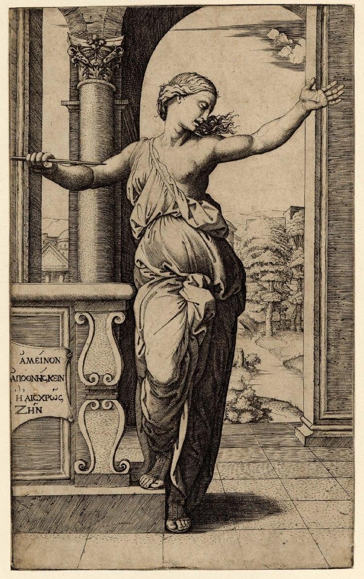 Raimondi Lucretia's suicide