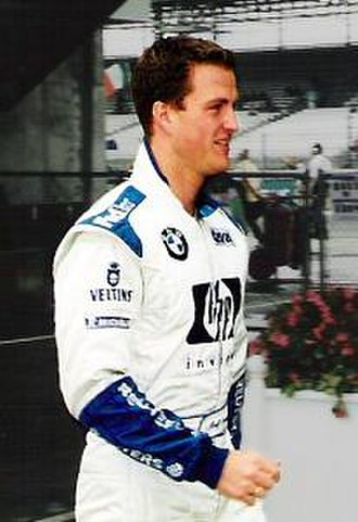 2001 German Grand Prix - Ralf Schumacher (pictured in 2002) took his third victory of the season.