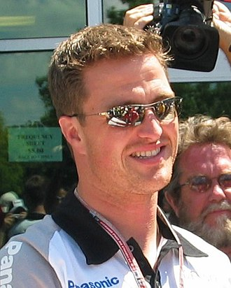 2005 United States Grand Prix - Ralf Schumacher at an autograph session before the practice session where he crashed in Turn 13.