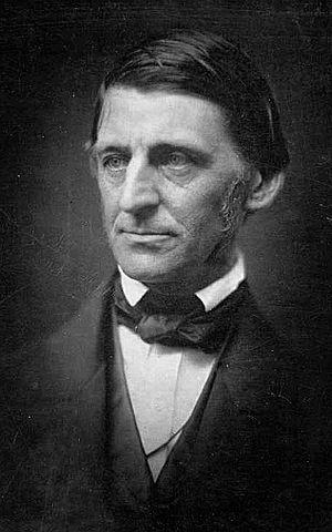 Ralph Waldo Emerson - Emerson in 1857