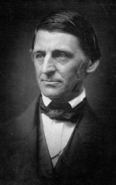 Picture of an author: Ralph Waldo Emerson