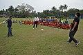 Ranjan Chowdhury - Syed Nayeemuddin - Jamshid Nassiri - Showing Skills - Football Workshop - Sagar Sangha Stadium - Baruipur - South 24 Parganas 2016-02-14 1178.JPG