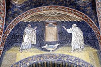 Ravenna-134-Mausoleum der Galla Placidia-Mosaik-1979-gje.jpg