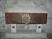 Real Monasterio de Santa Maria de Vallbona - Sepulcro de Voilante de Hungria.jpg