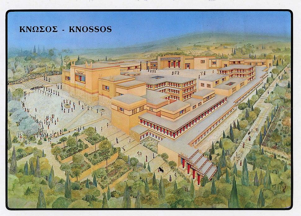 Reconstruccio Knossos