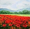 Red Poppy Field, by Irina Sztukowski, 2012.jpg