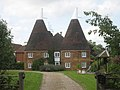 Reed Court Oast and Flanders Oast, Hunton Road, Chainhurst, Kent - geograph.org.uk - 338780.jpg