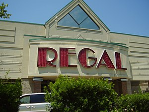 Regal Entertainment Group - A 1995 model Regal facility in Newtown Square, Pennsylvania.