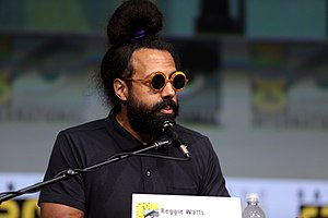 Reggie Watts - Watts at the 2017 San Diego Comic-Con
