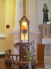 Reliquary of St. Francis Xavier's humerus
