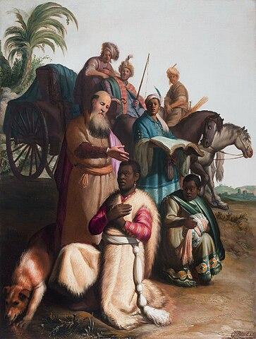 성경 속 순간이동 이야기1
