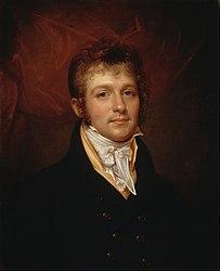 Rembrandt Peale: Portrait of Edward Shippen Burd of Philadelphia