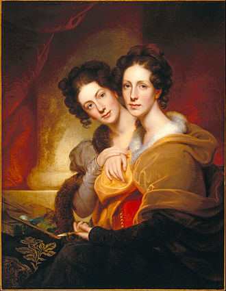 Rembrandt Peale - The Sisters (Eleanor and Rosalba Peale) (1826)