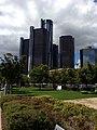 Renaissance Center, GM World Headquarters, Detroit, Michigan..JPG