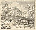 Renard Lies that the Rabbit Insulted One of His Children from Hendrick van Alcmar's Renard The Fox MET DP837675.jpg
