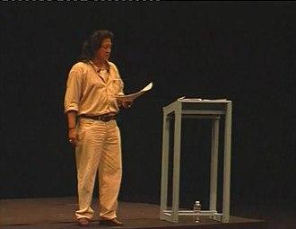 Willibrordus S. Rendra - Rendra on stage