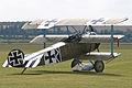 Replica Fokker DR.I 403 17 (G-CDXR) (7010661513).jpg