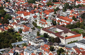 Kempten - View of the city