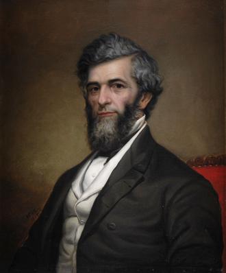 Reuben Fenton - Gubernatorial portrait of New York Governor Reuben E. Fenton.