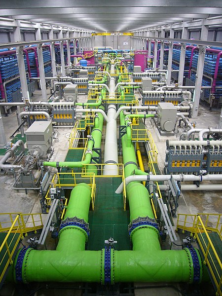 File:Reverse osmosis desalination plant.JPG