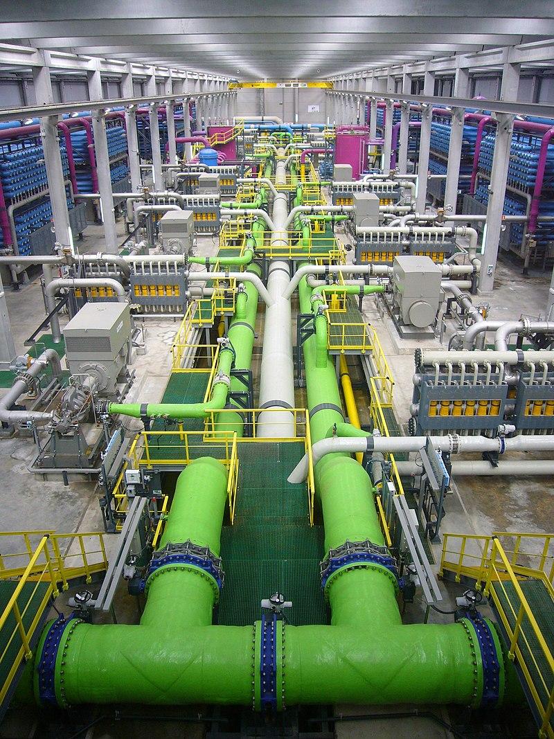 Reverse osmosis desalination plant.JPG