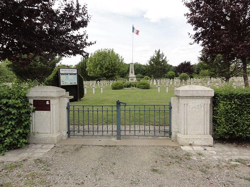 Revigny-sur-Ornain (Meuse) nécropole nationale