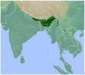 Rhacophorus maximus distribution map 2.png