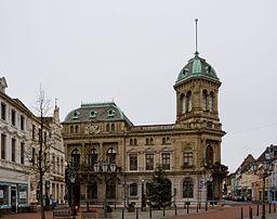 Rheinberg (North Rhine-Westphalia, Germany), historic town centre