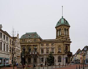 Rheinberg - Image: Rheinberg, Underberg Palais, 2011 12 CN 01