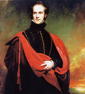 Richard Grosvenor, 2nd Marquess of Westminster - Painting of Lord Westminster (then Viscount Belgrave) by Henry William Pickersgill