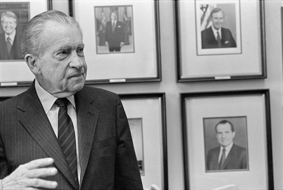 Richard Nixon in 1992