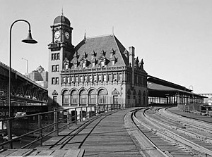 Richmond's downtown Main Street Station in 1971.