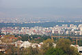 Ride with Simeonovo Cablecar to Aleko, view to Sofia 2012 PD 012.jpg