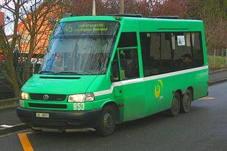 Riehen - Bus in Riehen
